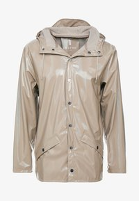Rains - HOLOGRAPHIC JACKET - Waterproof jacket - beige - 5