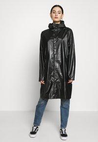 Rains - Parka - shiny black - 2