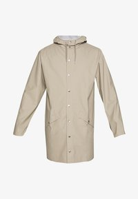 Rains - UNISEX LONG JACKET - Vodotěsná bunda - beige - 5