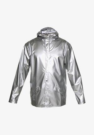 UNISEX JACKET - Regnjacka - silver