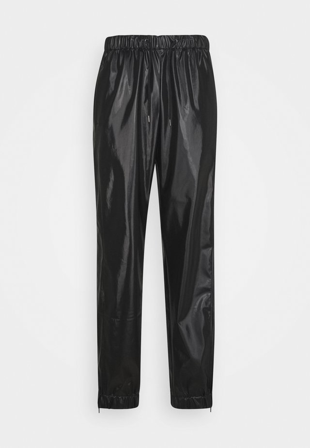 UNISEX PANTS - Broek - shiny black