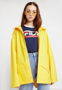 Rains - UNISEX JACKET - Impermeabile - yellow - 3