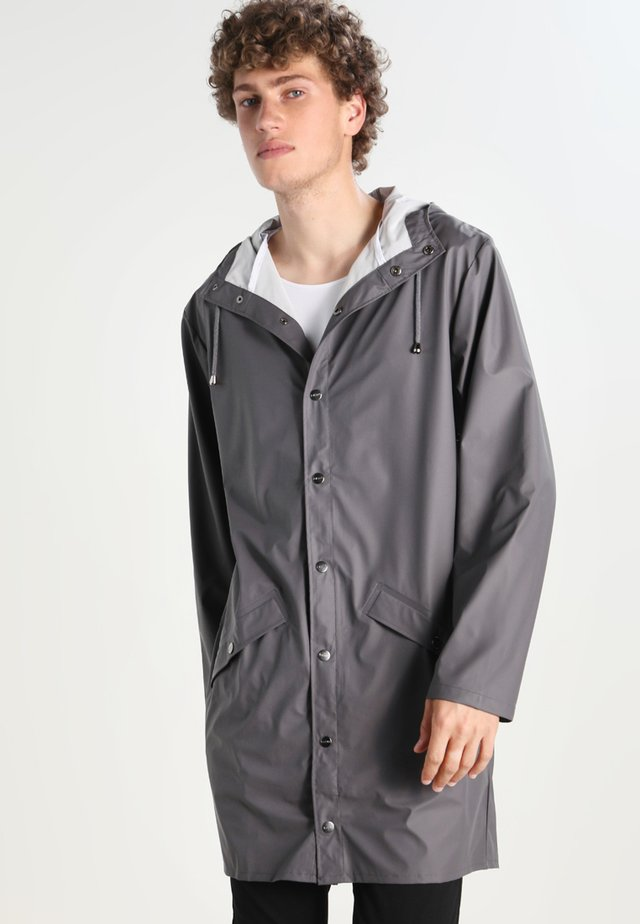 UNISEX LONG JACKET - Regenjas - smoke