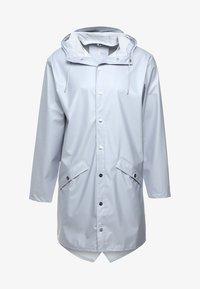 Rains - UNISEX LONG JACKET - Impermeable - metallic ice grey - 5