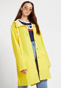 Rains - UNISEX LONG JACKET - Impermeabile - yellow - 3