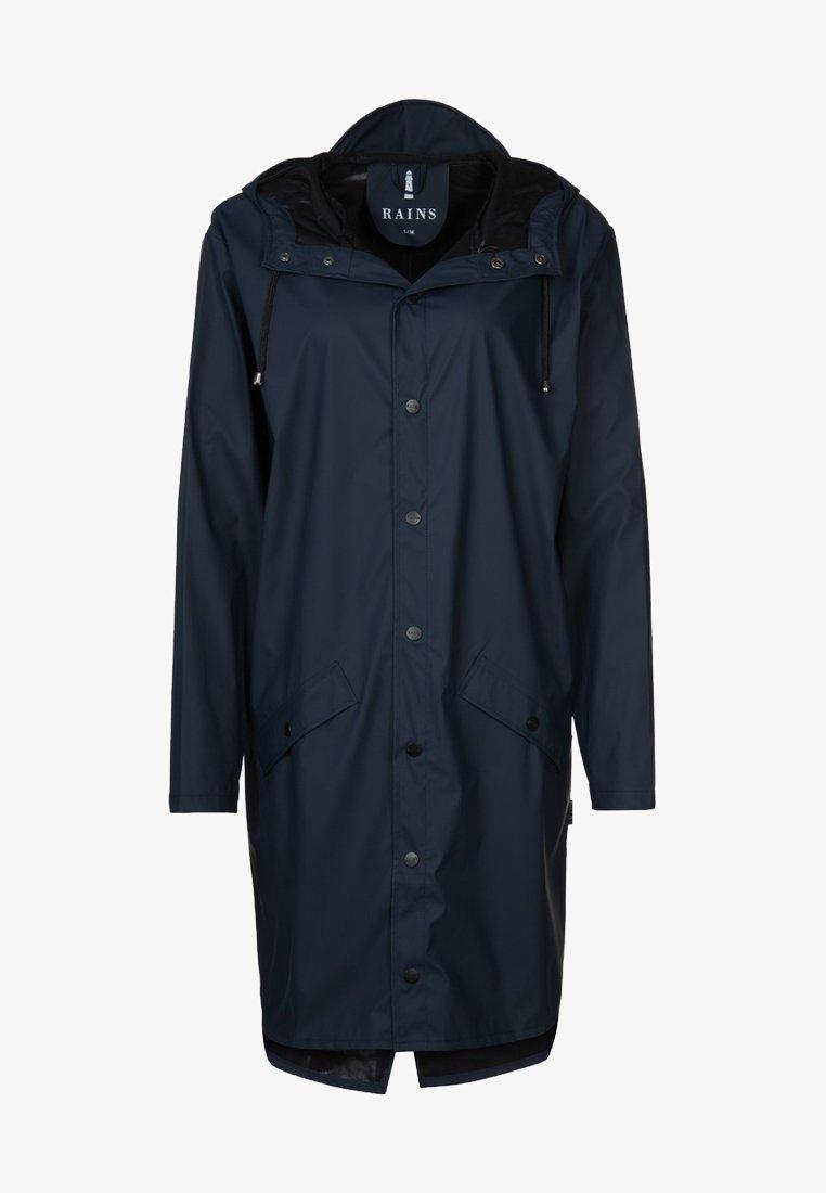 Rains - LONG JACKET - Waterproof jacket - blue
