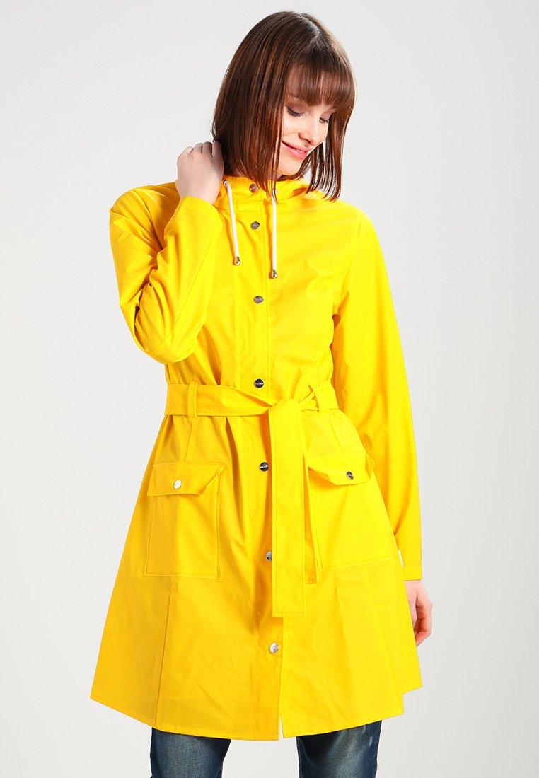 Rains - CURVE - Parkaer - yellow