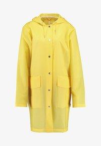 Rains - HOODED COAT - Regenjas - foggy yellow - 4