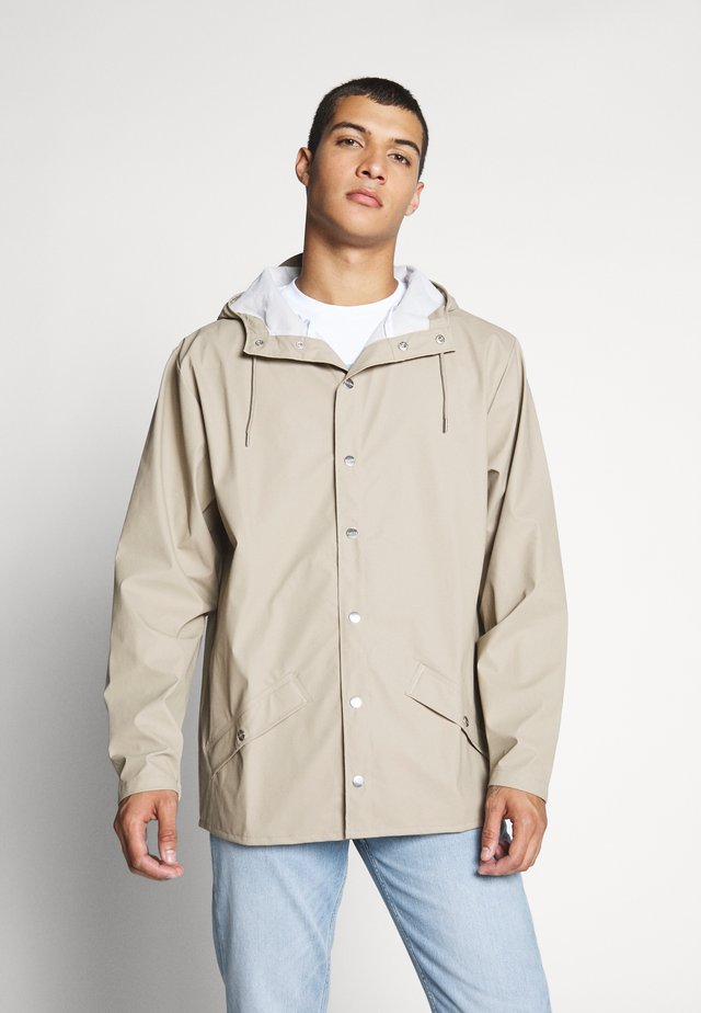 UNISEX JACKET - Waterproof jacket - beige
