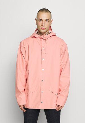 UNISEX JACKET - Impermeable - coral