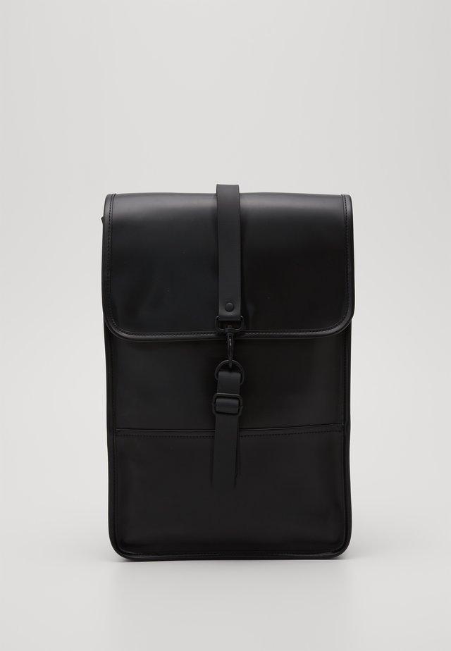 BACKPACK MINI - Rucksack - shiny black