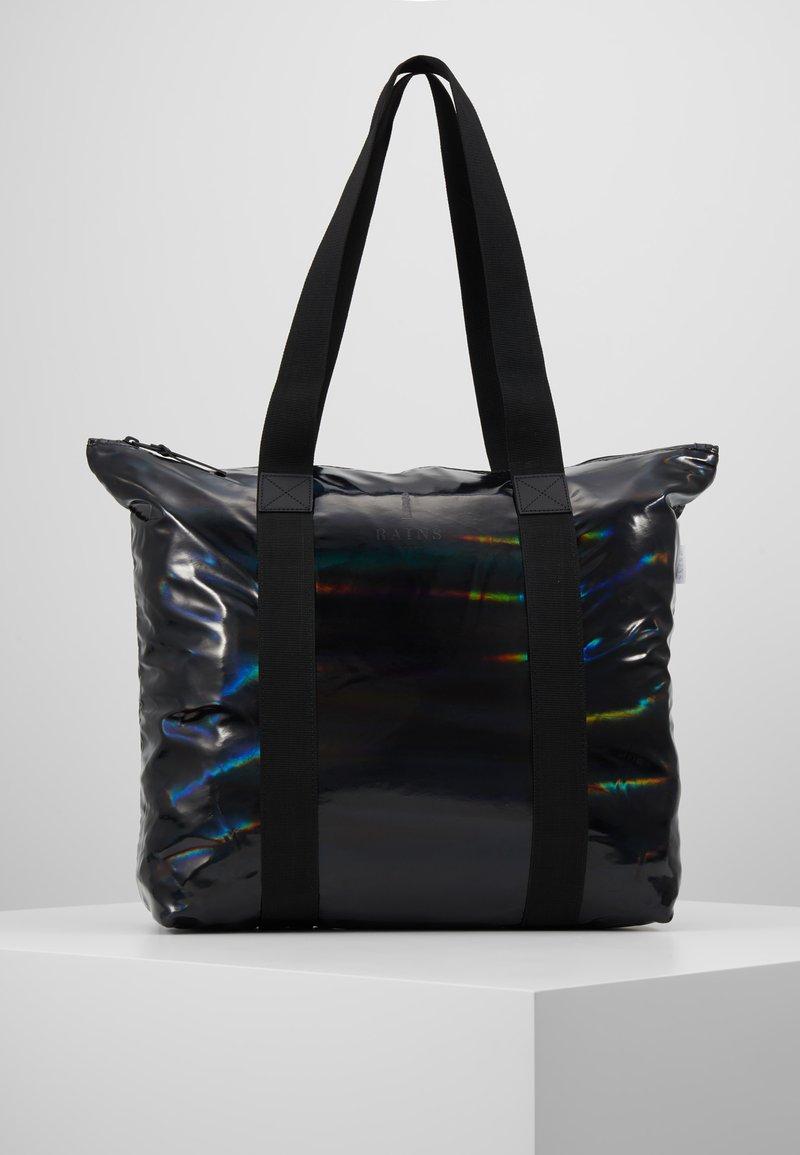 Rains - HOLOGRAPHIC TOTE BAG RUSH - Shopping bags - black