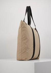 Rains - Bolso shopping - beige - 2