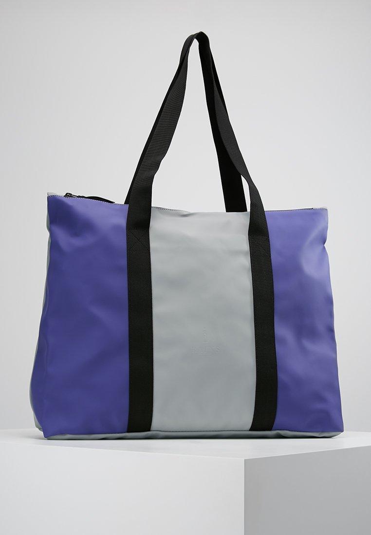 Rains - CITY TOTE - Tote bag - lilac/stone