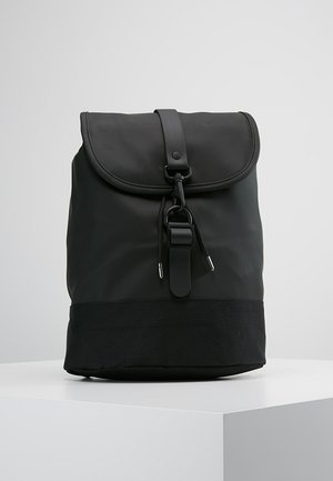 DRAWSTRING BACKPACK - Ryggsekk - black