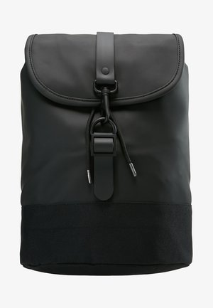 DRAWSTRING BACKPACK - Mochila - black