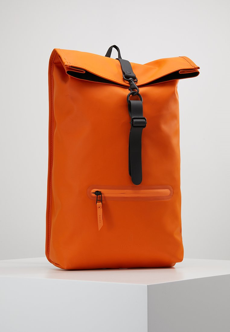 Rains - ROLL TOP - Sac à dos - fire orange
