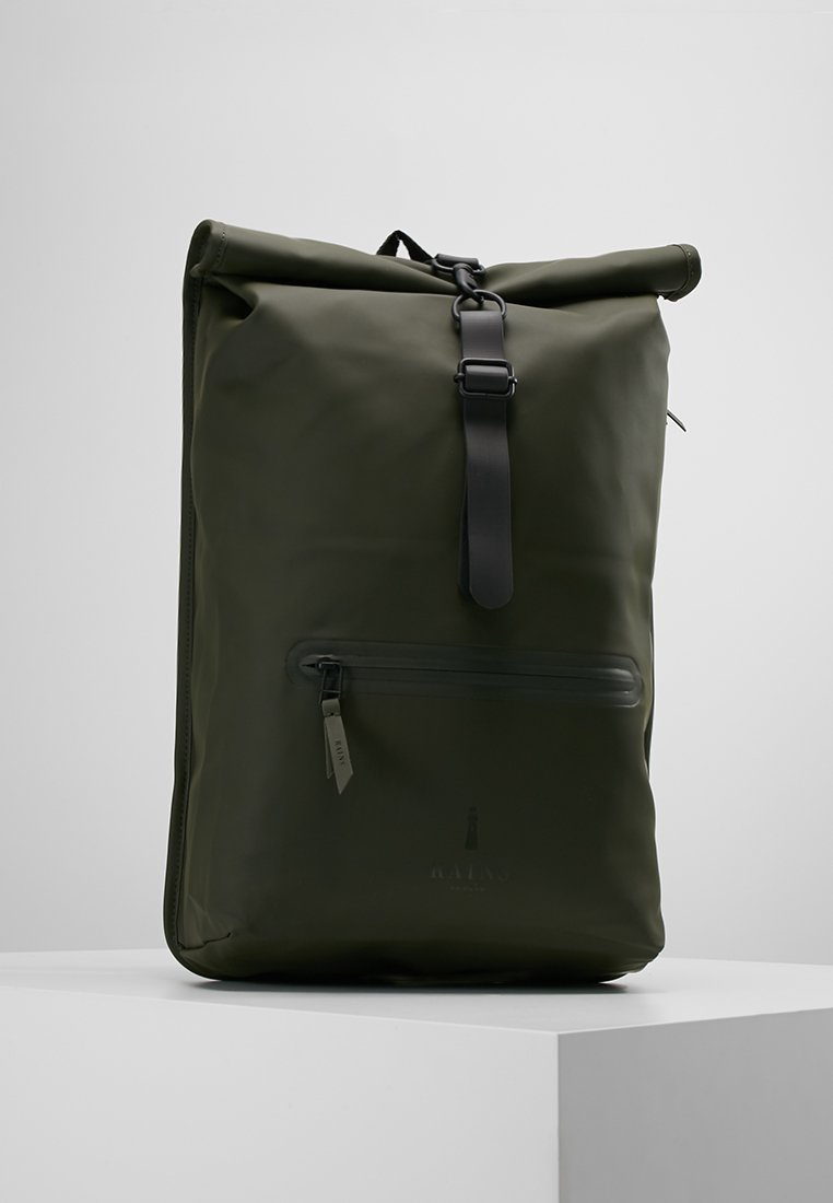 Rains - ROLL TOP - Sac à dos - green
