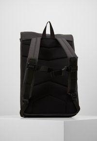 Rains - ROLL TOP - Rucksack - black - 2