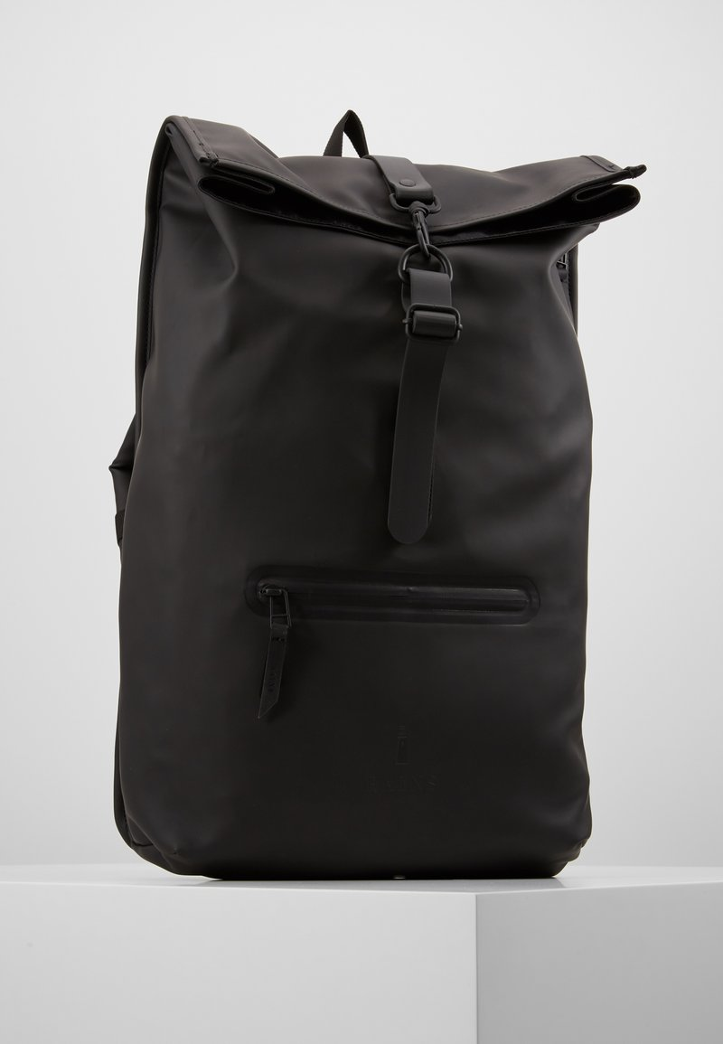 Rains - ROLL TOP - Mochila - black