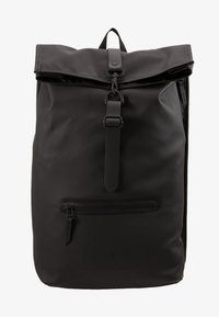 Rains - ROLL TOP - Rucksack - black - 6
