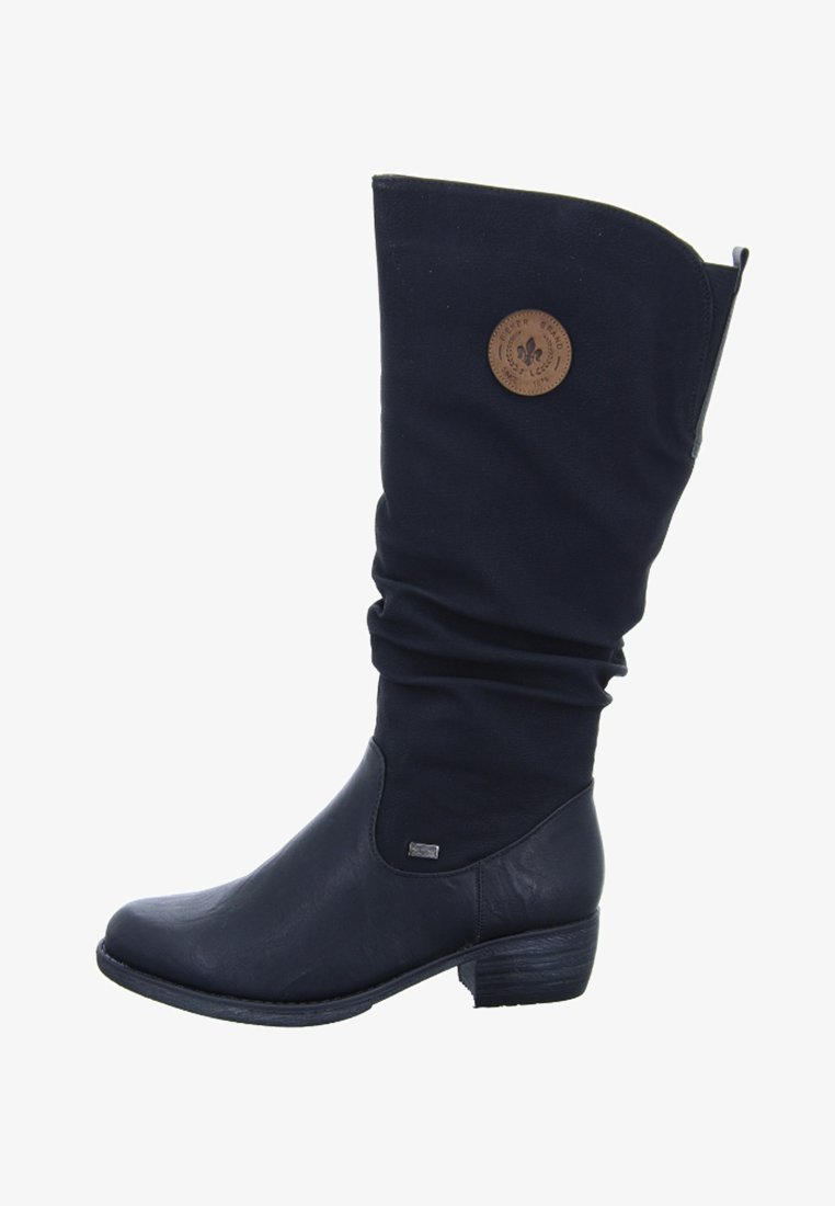Rieker - Vysoká obuv - black