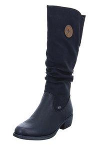 Rieker - Vysoká obuv - black - 1