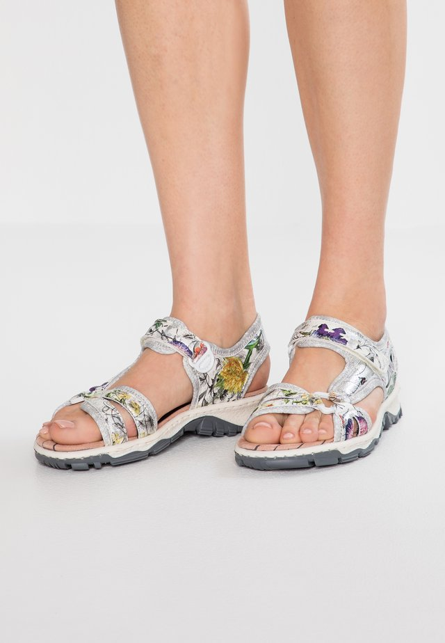 Walking sandals - ice-multicolor/silverflower
