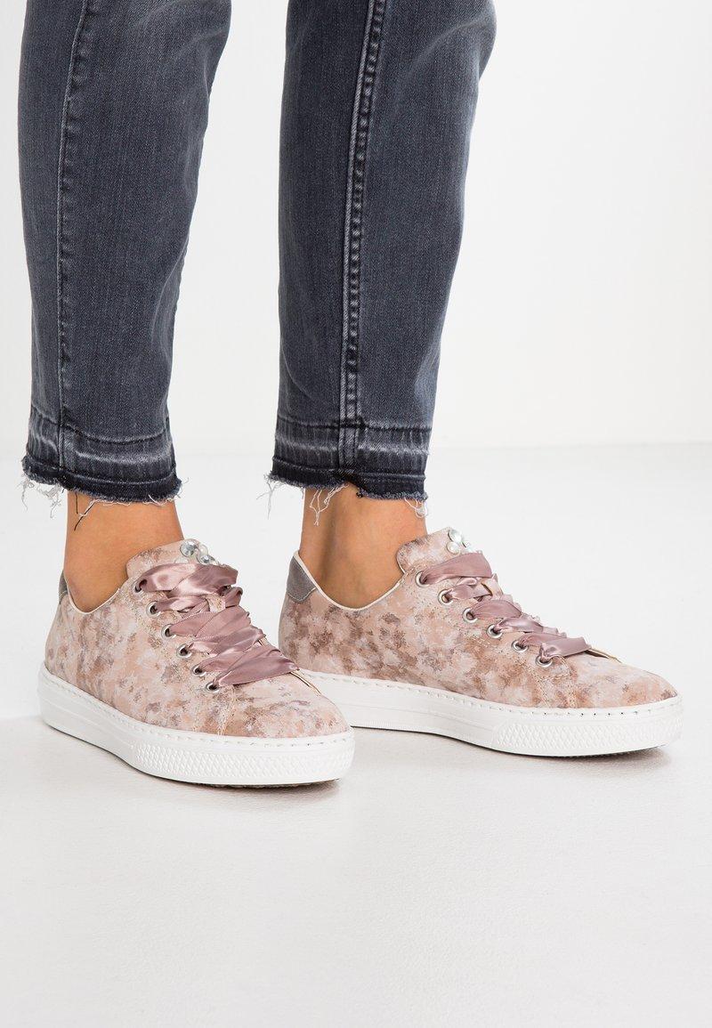 Rieker - Sneaker low - rosa/grey