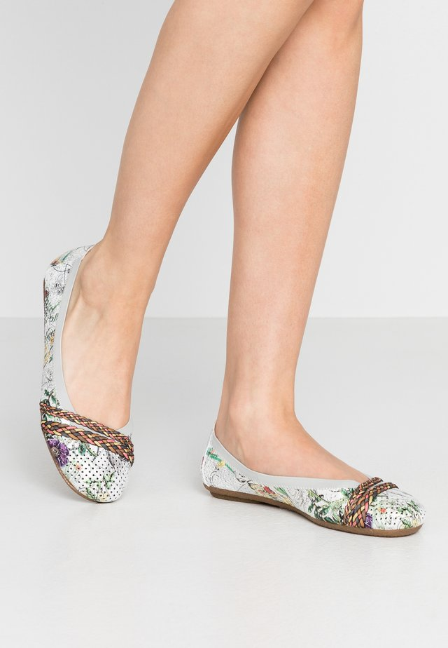 Ballet pumps - ice/multicolor