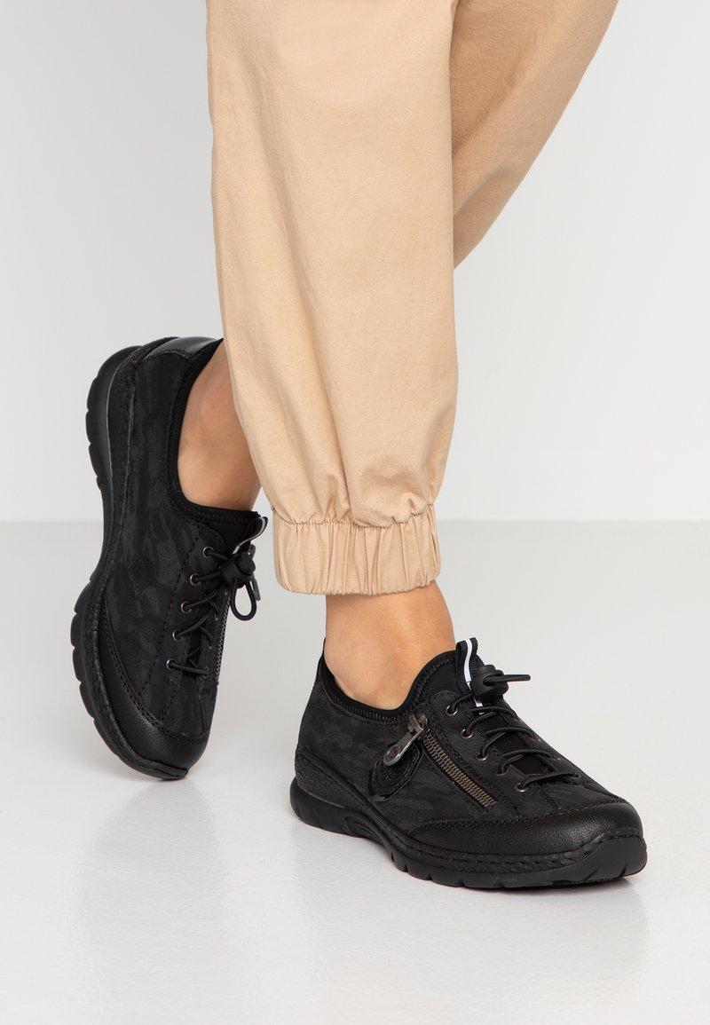 Rieker - Sneaker low - schwarz/grau