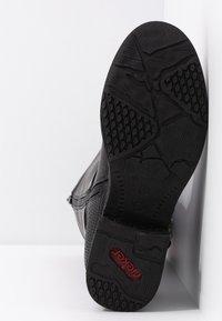 Rieker - Kovbojské/motorkářské boty - schwarz/moro - 6