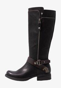 Rieker - Kovbojské/motorkářské boty - schwarz/moro - 1