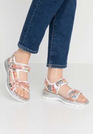 Sandals - ginger/multicolor/reinweiß