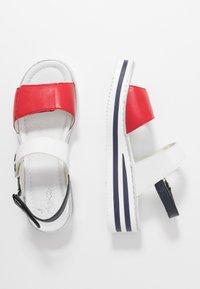 Rieker - Platform sandals - rosso/weiss/pazifik - 3