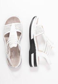 Rieker - Platform sandals - weiß/silber - 3