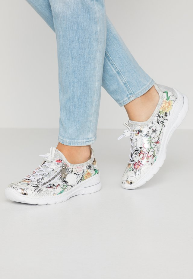 Sneaker low - ice/multicolor/weiß/silver
