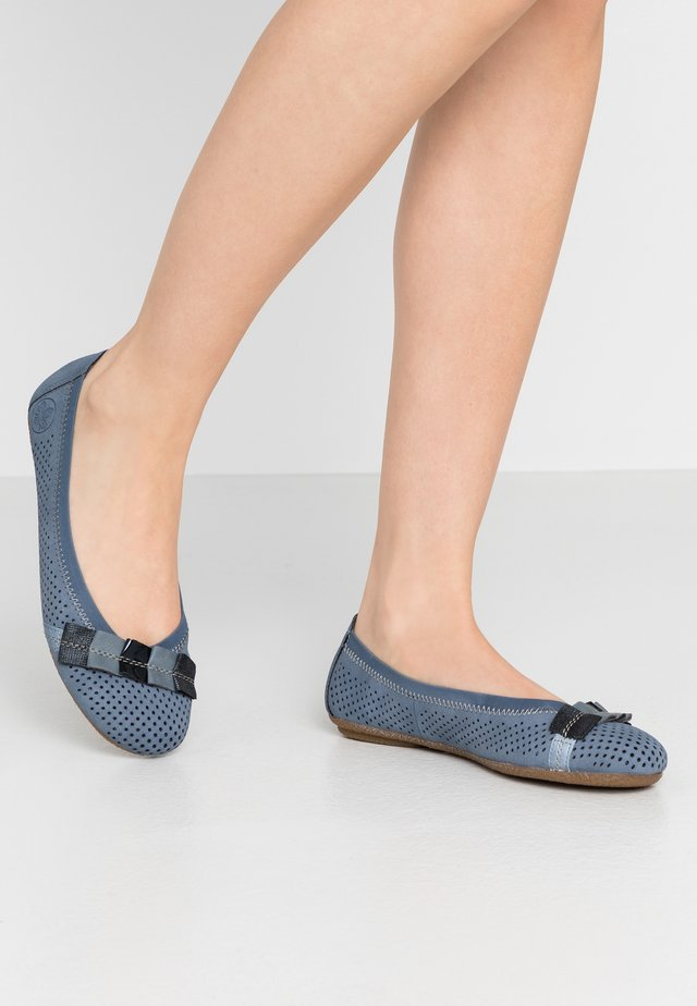 Ballet pumps - jeans/sky/nightblue/adria/marine