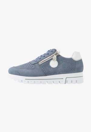 Trainers - jeans/weiß