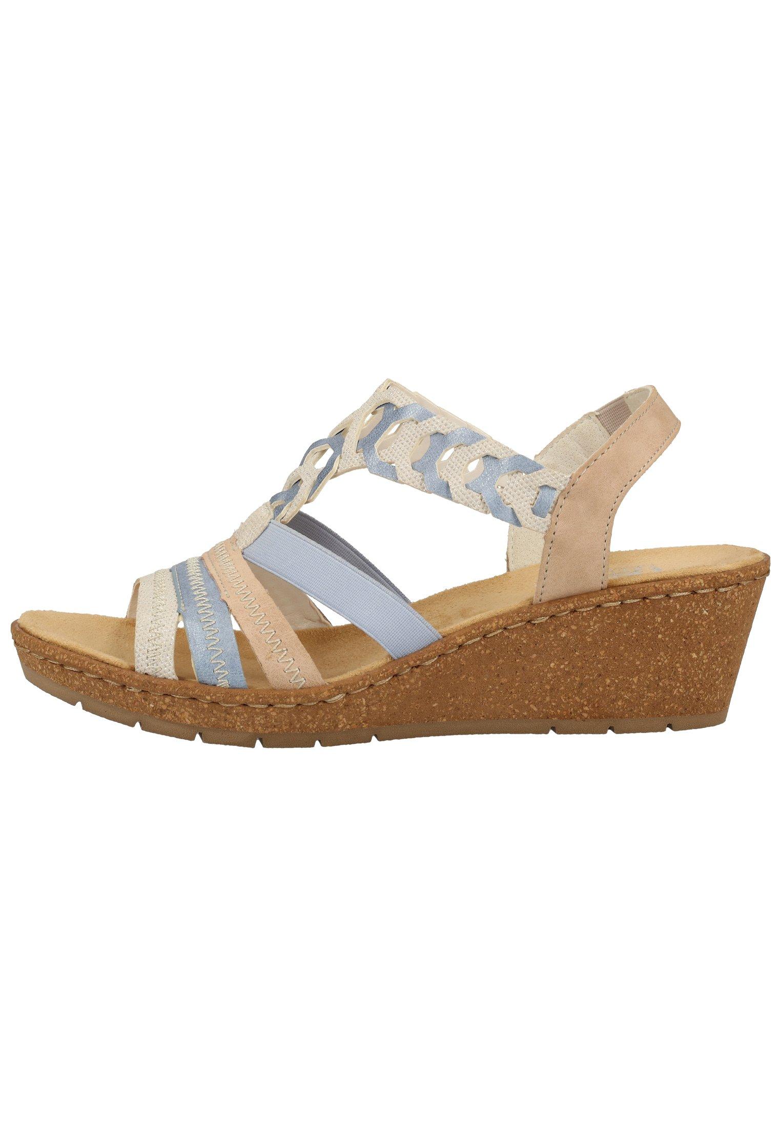 Rieker Sandale, multicolor 62681 auf