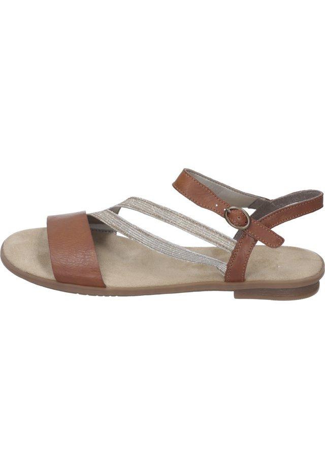 Sandals - cayenne/lightgold