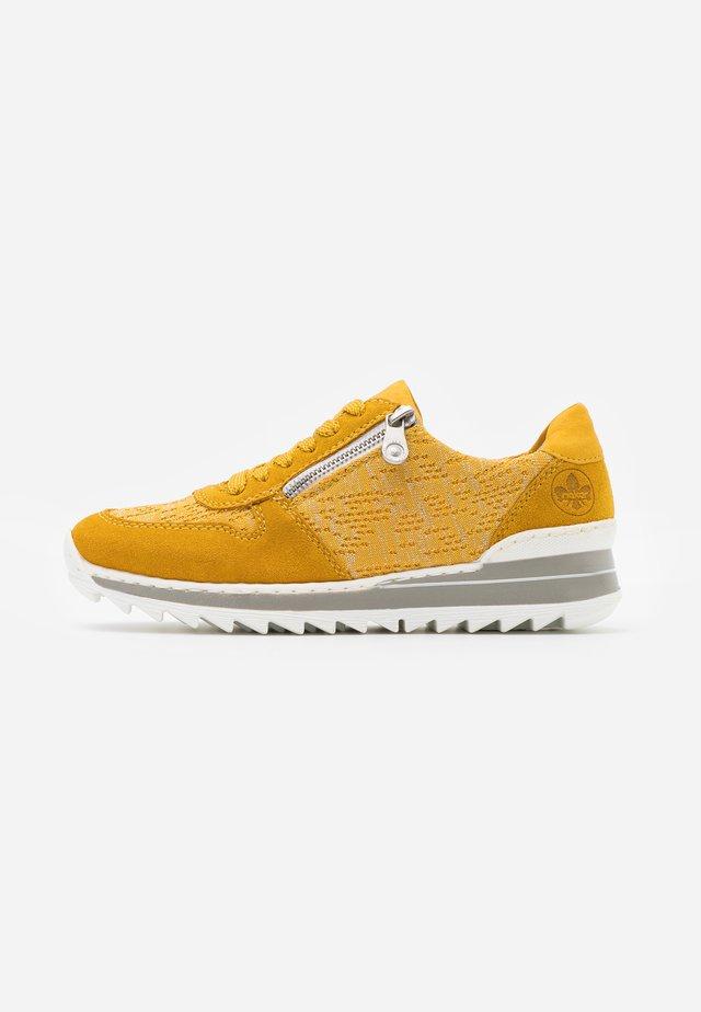 Sneakers - mais/gelb/silber