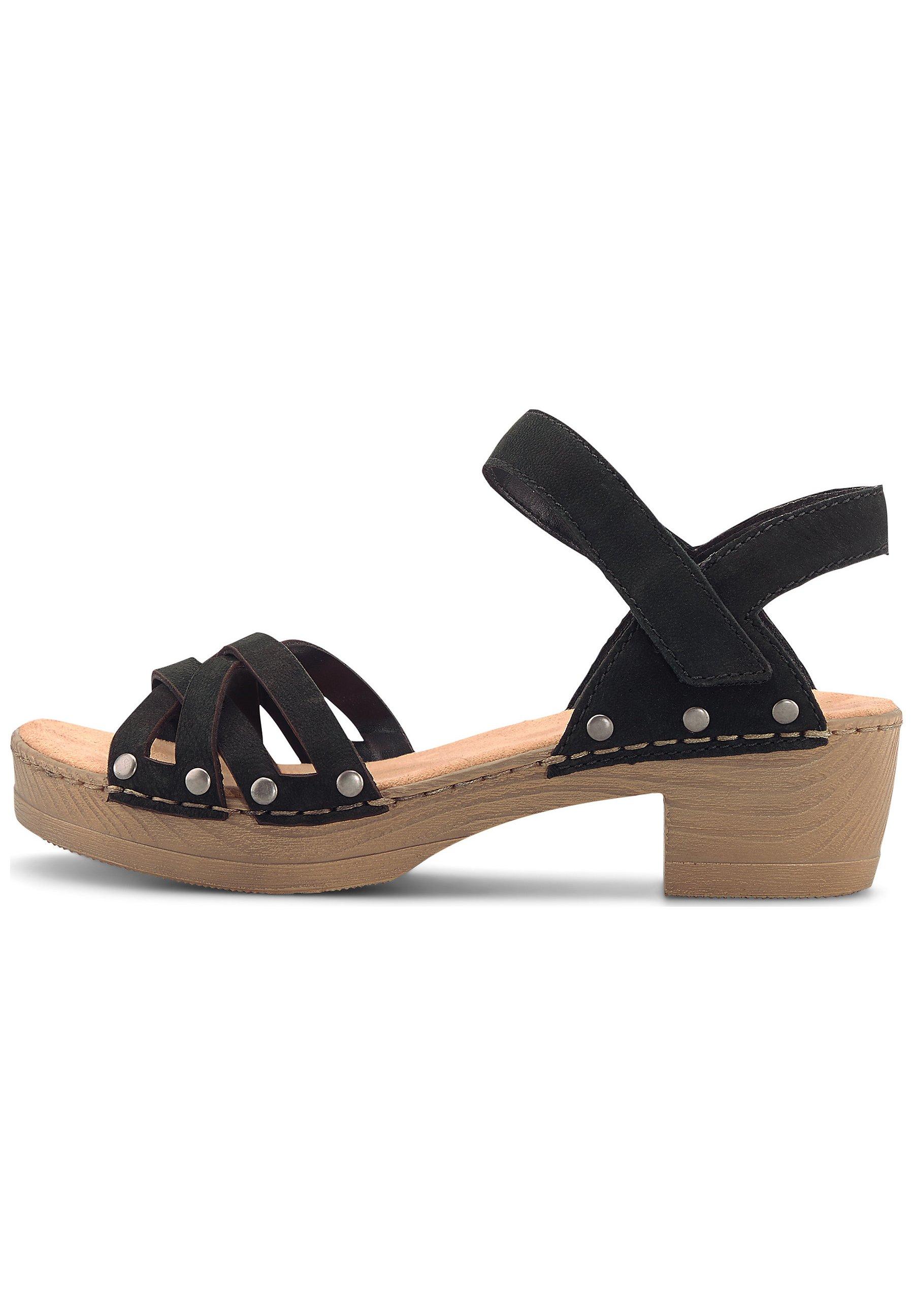 60% Rabatt Sandaletten Sandalen Damen Rieker silber MemoSoft