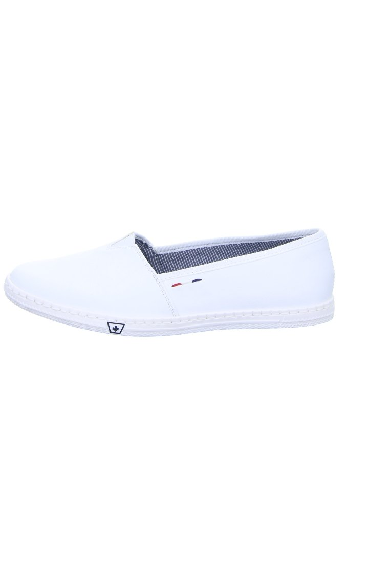 Rieker DAMEN Slipper white foUQK