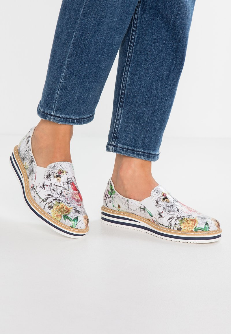 Rieker - Slippers - ice/multicolor