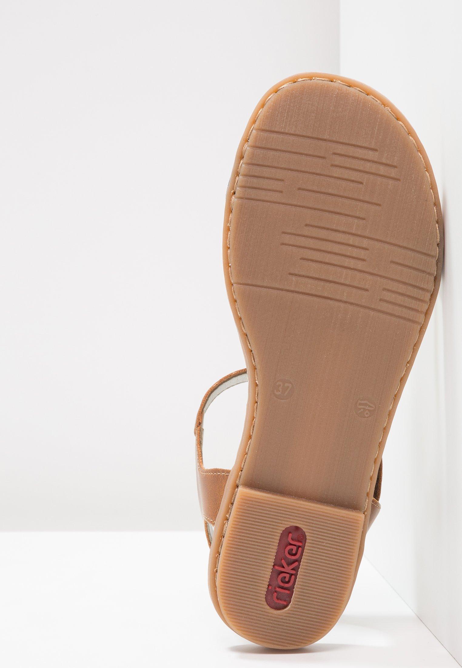 Rieker Sandals - pazifik/amaretto