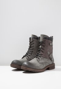 Rieker - Lace-up ankle boots - smoke - 4