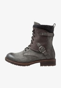 Rieker - Lace-up ankle boots - smoke - 1