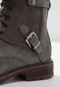 Rieker - Lace-up ankle boots - smoke - 2