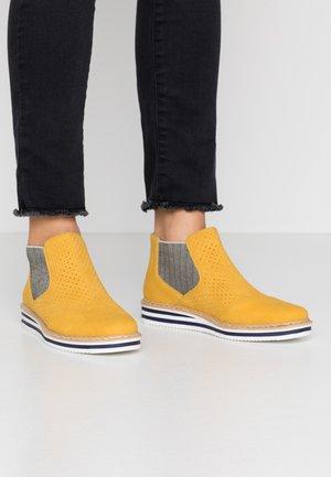 Kotníková obuv - gelb
